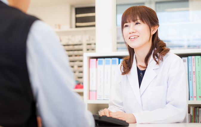 あさひ調剤薬局は地域の患者さんに優しく、明るく、温かな薬局であるように努めています。